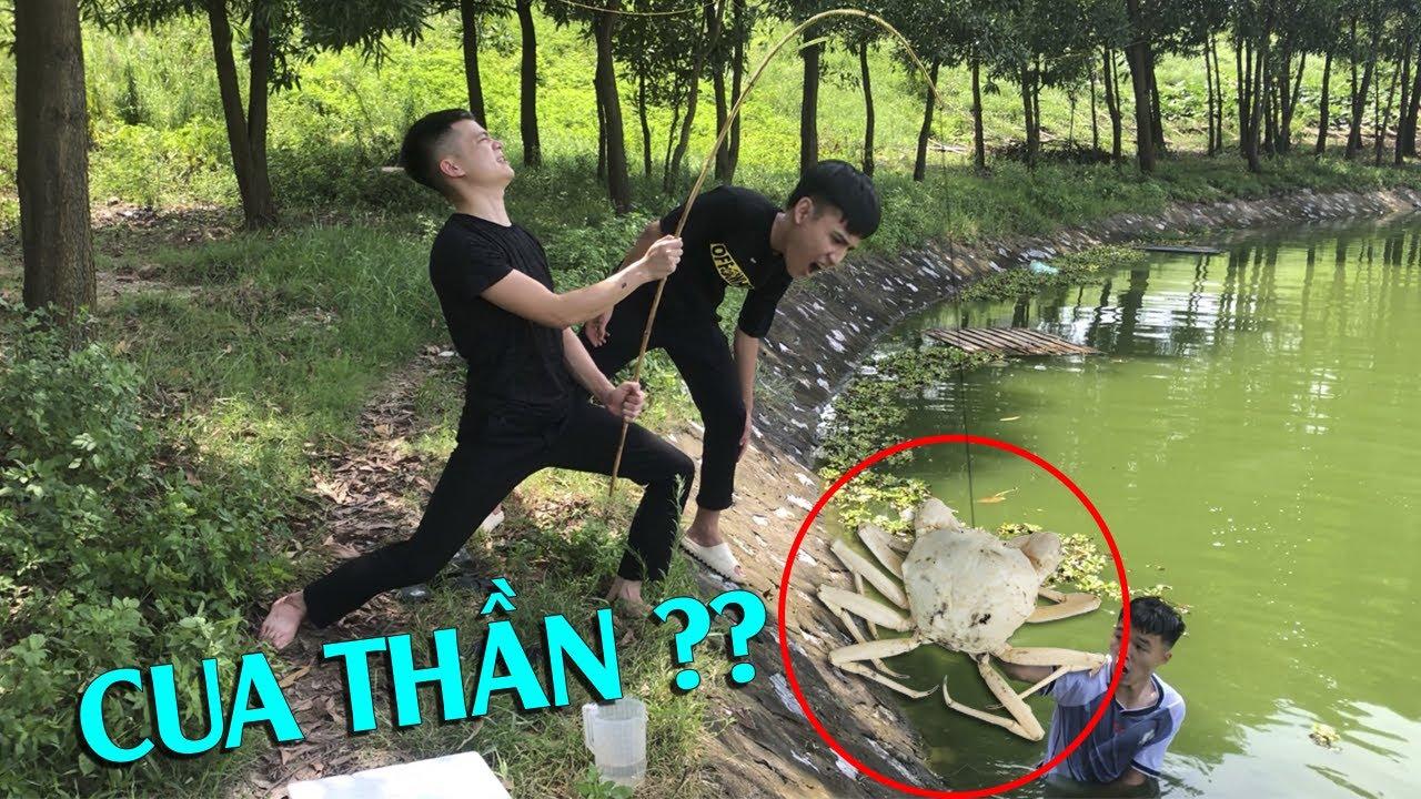Hữu Bộ | Câu Được Cua Thần Ở Ngoài Hồ Và Cái Kết Thịt Luôn | Crab Crystal