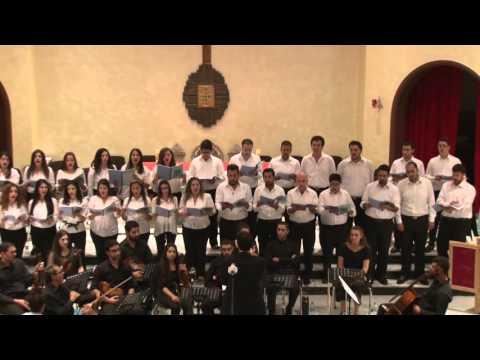 Amman [18.9.2015] | Fountain of Love Choir conducted by Toaama Jbara