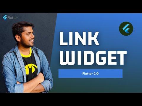 Flutter 2.0   Link Widget Explained