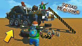 ВЫЖИВШИЕ ПОТЕРЯЛИ ПОСЛЕДНЮЮ МАШИНУ !!! МУЛЬТИК в Scrap Mechanic !!! СКАЧАТЬ СКРАП МЕХАНИК !!!