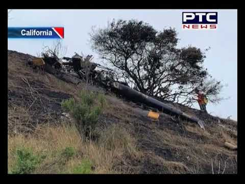 1 Dead in Helicopter Crash California