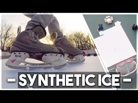 BUILDING A RINK WITH SKATEABLE TILES