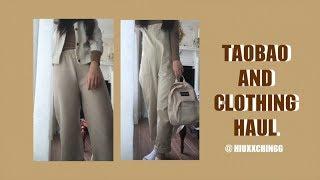 淘寶分享🐻🍁 | TAOBAO AND CLOTHING HAUL