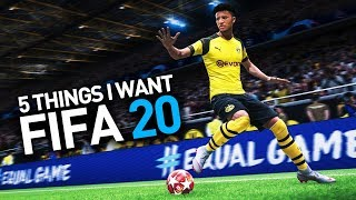 [10.65 MB] 5 THINGS I WANT IN FIFA 20 CAREER MODE!
