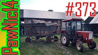Wyciąganie starej Warmianki - Życie zwyczajnego rolnika #373