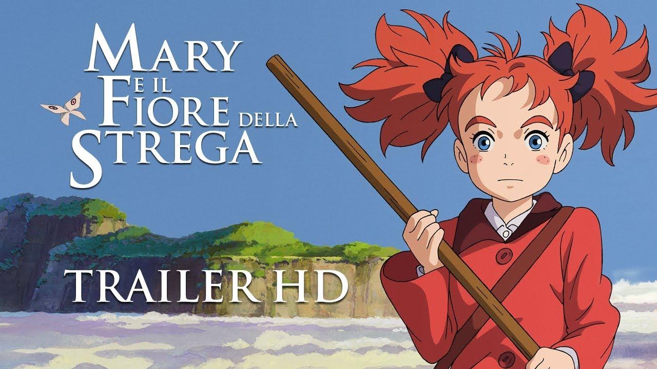 mary e il fiore della strega trailer ufficiale italiano On mary e il fiore della strega