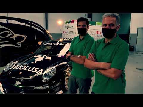 Presentación Porsche 911 GT3 de Vallejo Racing para 2020
