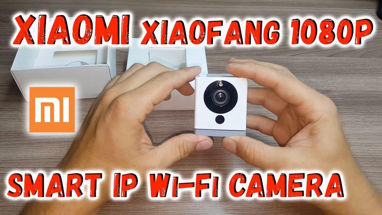 Xiaomi Xiaofang Smart IP WiFi Camera 1080P,обзор, подключение, настройка  Посылка из Китая с Али