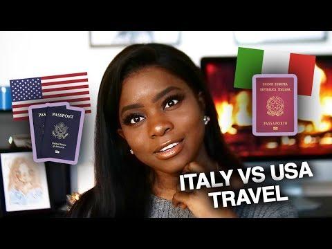 ITALIAN TRAVEL VS US TRAVEL