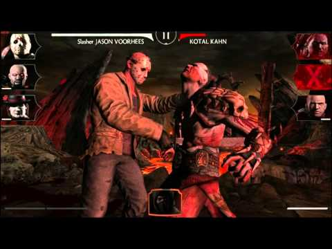 Mortal Kombat X Mobile -- Jason Voorhees