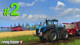 Farming Simulator 2015 Обучение, урок 2: Посев канолы