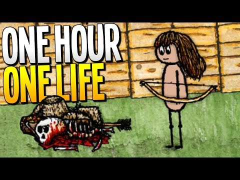 LIVING IN THE MOST DANGEROUS CITY EVER - One Hour One Life Gameplay