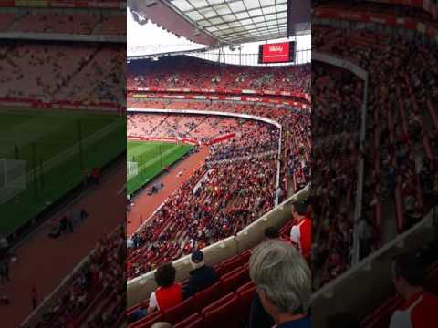 Emirates Stadium (London) - Clock End - Upper Tier