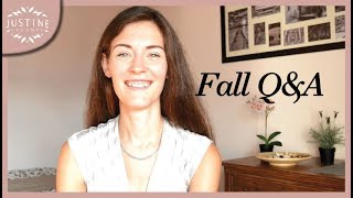 My nails, France vs. Germany, staring at people | Fall Q&A | Justine Leconte