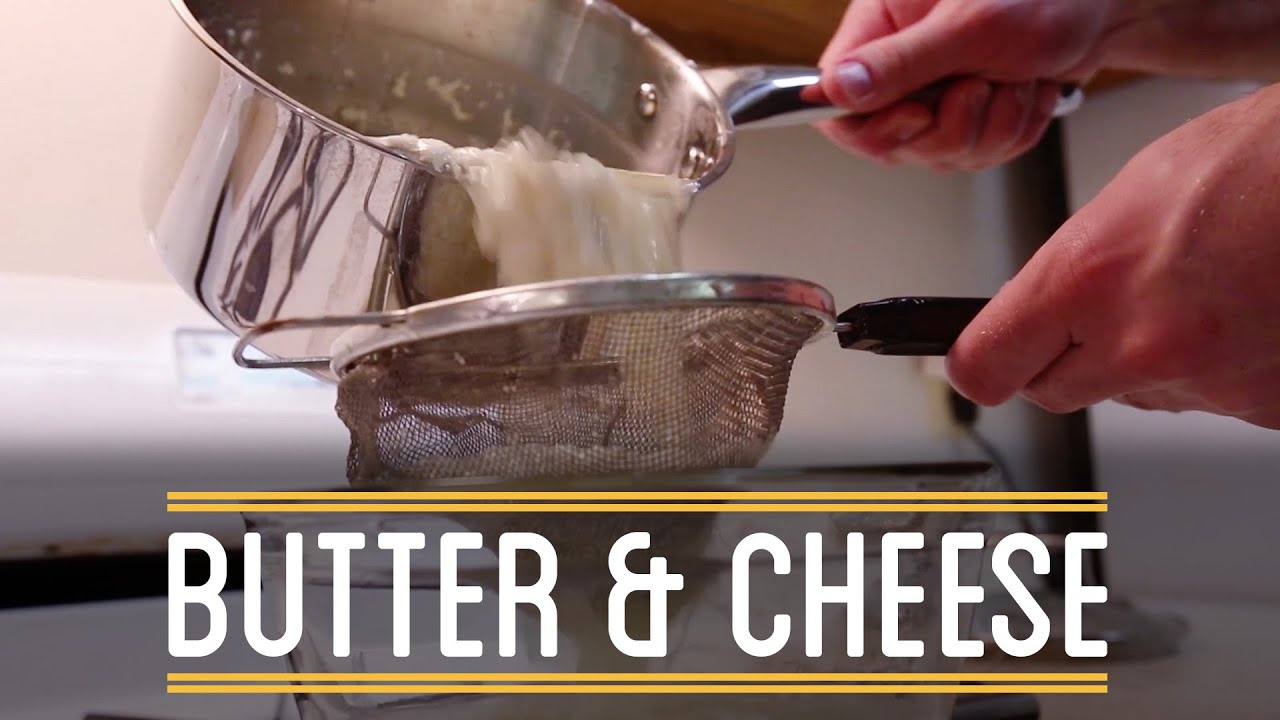 DIY Butter & Cheese | How to Make Everything: Sandwich (10/12)