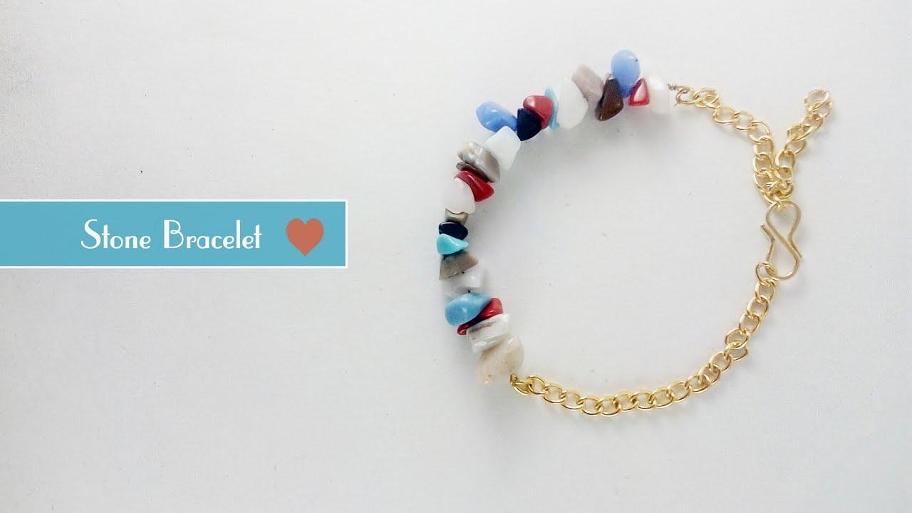 Sea Glass Bracelet Making Tutorial (Wire Wrapping) | Jewellery Box ...