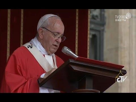 Omelia di Papa Francesco nella solennità dei santi Pietro e Paolo