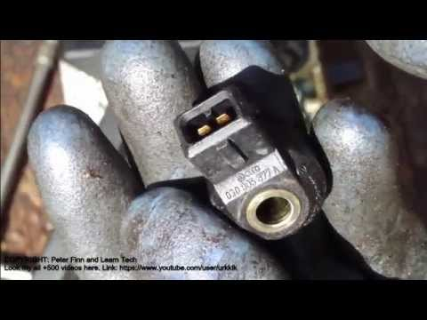 vw polo knock sensor replace info youtube rh youtube com Audi A3 TDI Audi A3 Service Manual