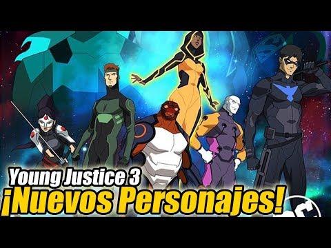 Young Justice Temporada 3 - ¡NUEVOS PERSONAJES EXPLICADOS!