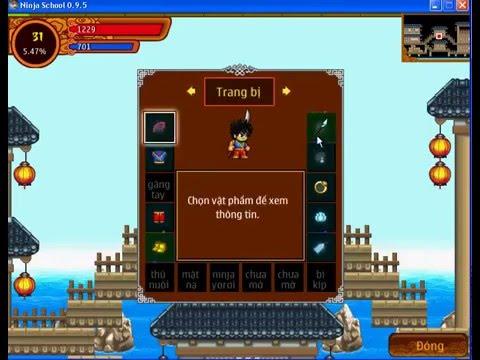 Cách Hách Yên Xu Lượng Ninjaschool online - Game Teamobi