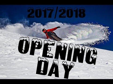 Revelstoke Mountain Resort 2017/2018 [DINOMIKE] Opening Day