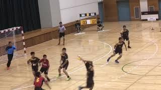 2018 関東中学校ハンドボール大会  男子準決勝  三郷北vs手代木(修正版)