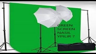 Green Screen Nasıl Yapılır ? (BANDİCAM)