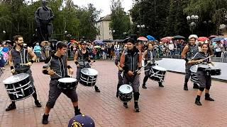 Тула. Театральный дворик 2016. Шоу барабанщиков Brincadeira (Испания) Lasonrisa del silencio