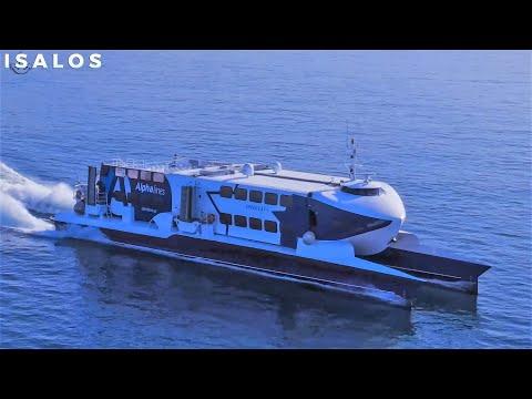 Speed Cat 1 – Παρθενική αναχώρηση από Πειραιά για το πρώτο ταξίδι! (Maiden departure from Piraeus)