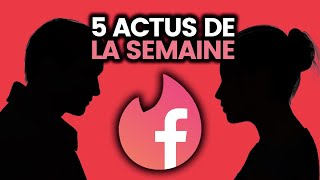 Amour sur Facebook, Quotidien vs Mélenchon, sodas mortels, Japon, Apple.. 5 actus de la semaine