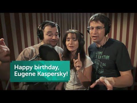 Happy Birthday Eugene Kaspersky!