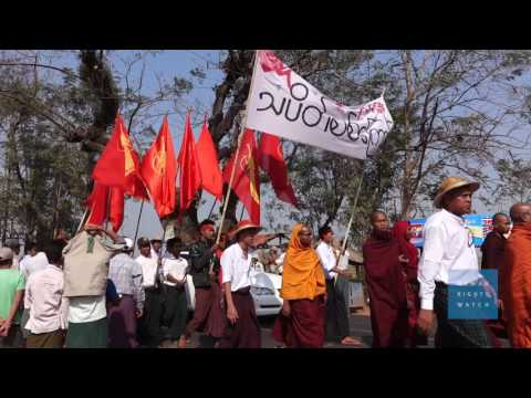 Imprisoned for Protest and Free Speech in Burma