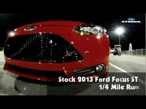 Stock 2013 Ford Focus ST Drag Run