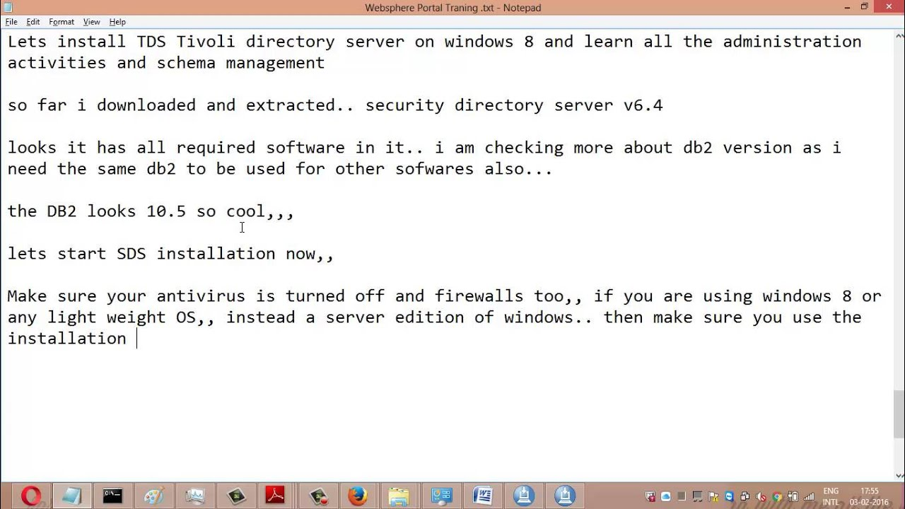 Step by Step guide for Installing and configuring IBM Security Directory  Server v6 4 - part1