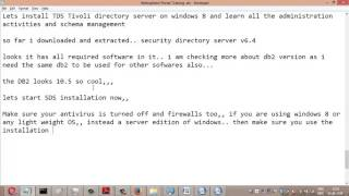 Step by Step guide for Installing and configuring IBM Security Directory Server v6.4 - part1