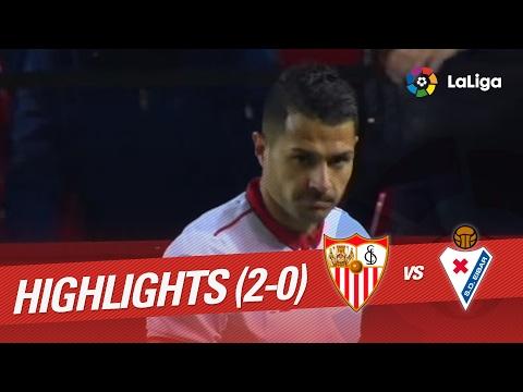 Resumen de Sevilla FC vs SD Eibar (2-0)