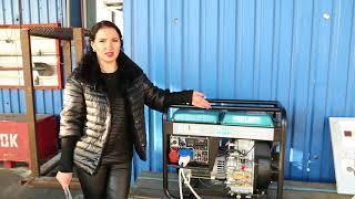 Однофазный генератор и трехфазный генератор в одной модели