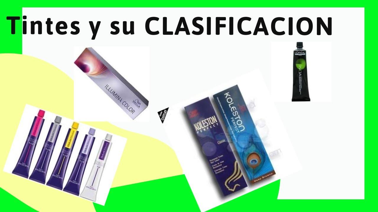 Clasificacion de tintes PERMANENTES, SEMIPERMANENTES Y TEMPORALES  (Diferencia)