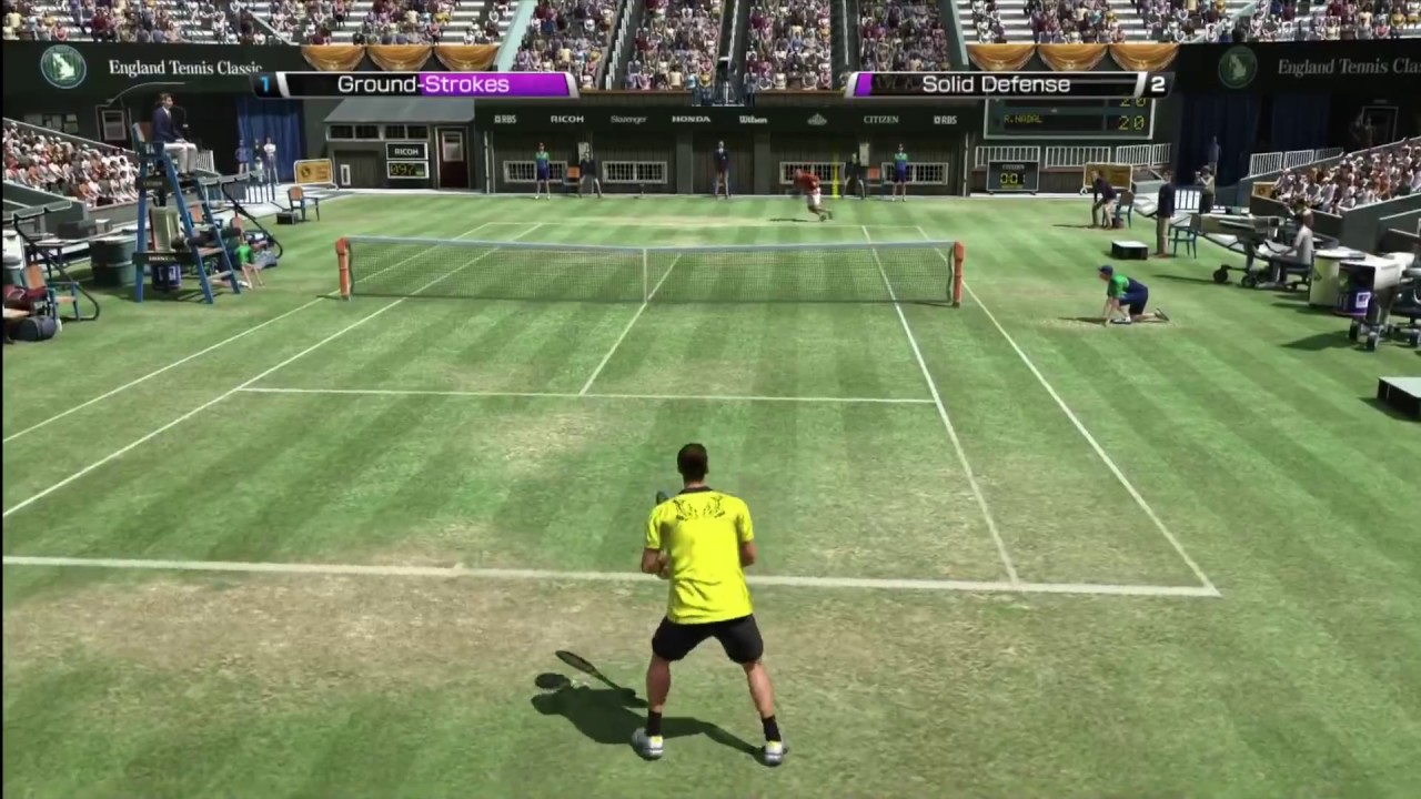 Virtua Tennis 4 PC Games Screenshots