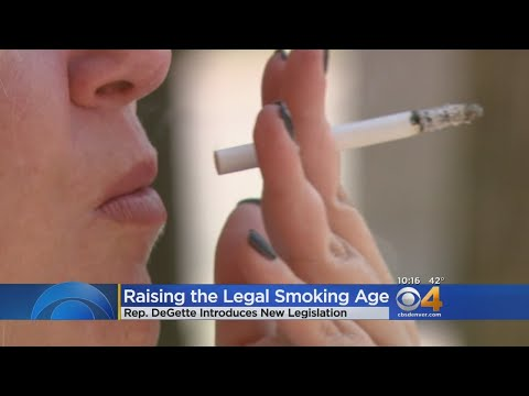Rep. Diana DeGette Wants To Raise Smoking Age