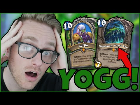 YOGG and ZUL'JIN in the SAME DECK? Secret Spell Hunter is NUTS   Ashes of Outland   Wild Hearthstone