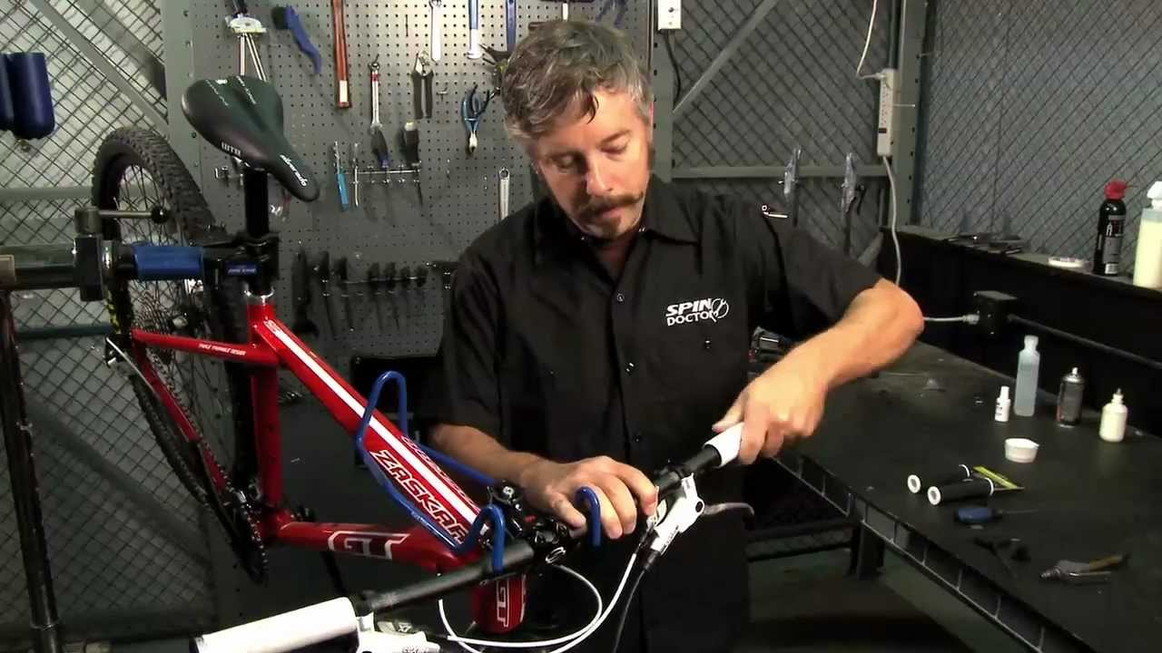 How to Change Grips on a Bike by Performance Bicycle - YouTube