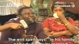 """Anger Spirit"" Man Says His Wife Is ""Stubborn"" Took Her To SCOAN To Be Delivered, Emmanuel TV"