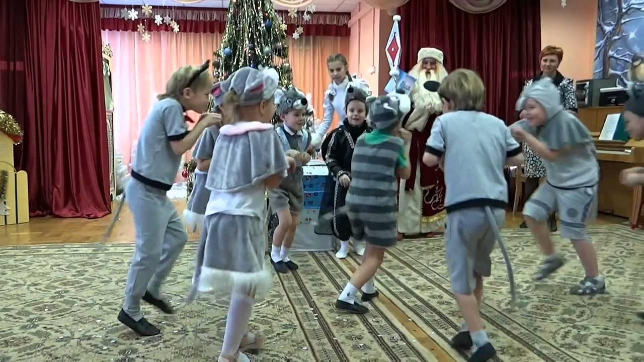 Танец котят на новый год в доу