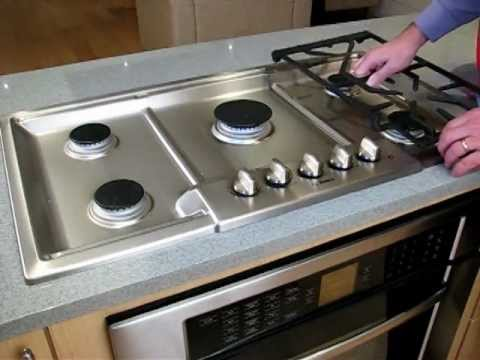 How To Clean Your Bosch Gas Cooktop Youtube