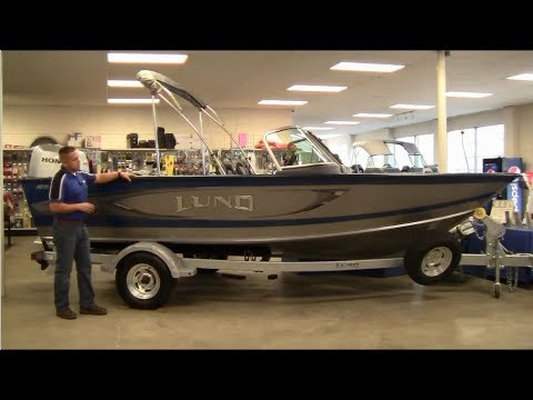 CLOSEOUT 2017 Lund 1875 Crossover XS