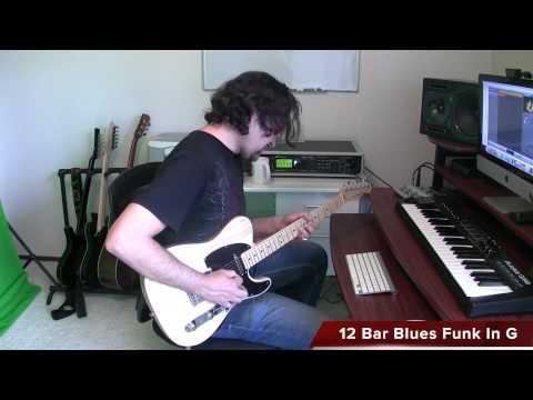 Fender Telecaster Blues In G