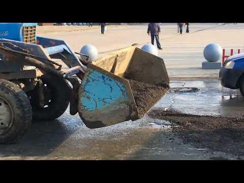 Ямочный ремонт в центре Пензы