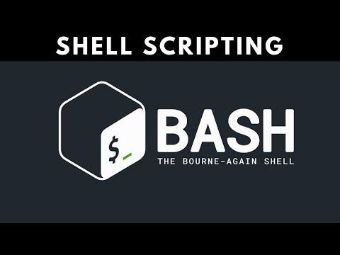 Shell Scripting -