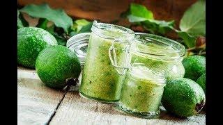 Наступает пора ФЕЙХОА! Берем мед, лимон и готовим полезные вкусняшки